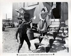 """Lloyd Hughes & Colleen Moore in """"Desert Flower""""   (1925)"""