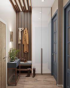 Home Room Design, Interior Design Living Room, House Design, Home Entrance Decor, House Entrance, Japanese Home Decor, Hallway Furniture, Hall Design, Apartment Design