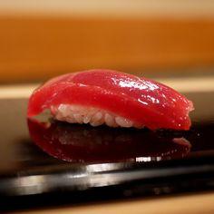 I dream of the sushi at Jiro's Sukiyabashi.