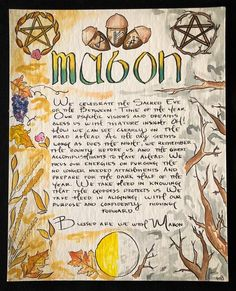 Mabon, Samhain, Wiccan Witch, Wiccan Spells, Magick, Summer Solstice Ritual, Solstice And Equinox, Autumnal Equinox Celebration, Autumn Witch