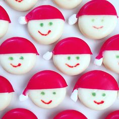 #traktatie voor bij het #kerstdiner op #school. #kerstman #kaas Christmas 2017, Kids Christmas, Advent, Babybel Cheese, Time Kids, Xmas Food, Food Humor, Funny Food, Dear Santa