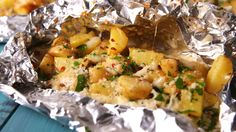 Campfire Potatoes - could totally do this with more roasted veg like carrots and broccoli