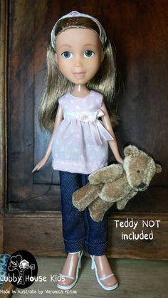 https://www.facebook.com/Cubby-House-Kids-1589332351354067/ OOAK Repainted Cubby House Kids Sleepover 019 by CubbyHouseKids