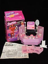 Mattel 1982 Barbie Dream Store Makeup Department in Original Box