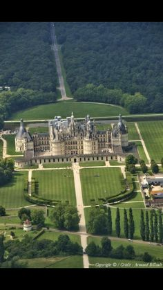 Chateau, Chambord, France!