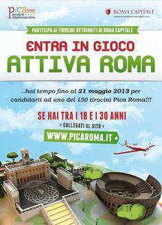 Tirocini gratuiti A Roma Capitale: Al Via L'edizione 2013 ATTIVA LA CULTURA