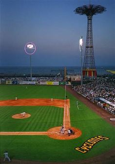 Brooklyn Cyclones - baseball, hotdogs, beach and in the shadow of Coney Island.  And - AFFORDABLE TICKETS!!!