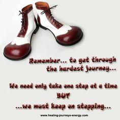 ...keep on stepping...