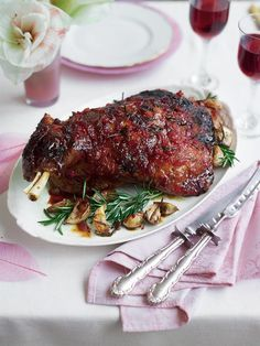 This slow cooked, chilli glazed lamb shoulder recipe is juicy, sticky and melts in the mouth. Perfect for a Sunday roast.