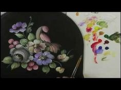 Tulip - Bauernmalerei, Decorative Painting Video & Tole Painting Lesson - YouTube