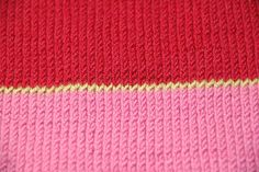 Ravelry: knitstergrrl's Block-Striped Scarf
