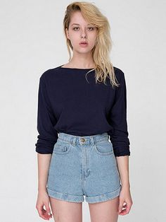 Why You Need Boat Insurance Casual Chic Style, Feminine Style, Feminine Fashion, Looks Style, My Style, New Wardrobe, American Apparel, Boat Neck, Street Style