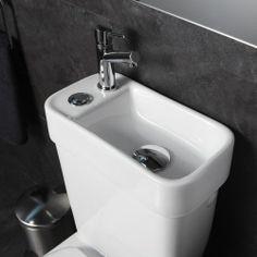 121ed9742952d Pack Wc 2 en 1 avec lave-mains écologique sortie Horizontale