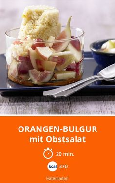 Orangen-Bulgur