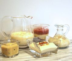 Sugar free custard recipe for baby. Vanilla, coconut, mango & passionfruit, lavender & rhubarb.