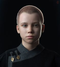 Thexan/Arcann Child, Arda Koyuncu on ArtStation at… Kid Character, Character Modeling, Character Concept, 3d Modeling, 3d Face, Male Face, Cthulhu, 3d Character Animation, Dungeons And Dragons Art