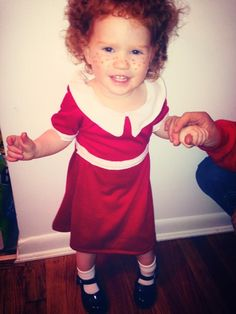 Annie red head Halloween costume blue eyed Sienna creative Halloween costumes kid costumes  sc 1 st  Pinterest & 8 best red head Halloween costumes images on Pinterest | Cosplay ...