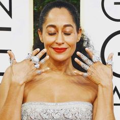 Thank you Tracee for always representing women the way we truly are in all our magical complicated funny brilliant sexy and sacred glory. Congratulations on your win tonight. We've all loved you forever - especially me   #loveher #hooray   #rolemodel #traceeellisross #goldenglobes #winner #blackish #selflovemovement #fredandfar #selflovepinkyring #pinkyring #selflove #loveyourself #goldenglobes2016 #girlpower #womenempowerment #womenempoweringwomen