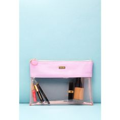 Forever 21 ban.do Peekaboo Clutch (1,530 INR) ❤ liked on Polyvore