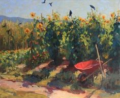 Crow Field by Susan Diehl