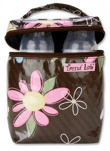 Blossoms Insulated Bottle Bag