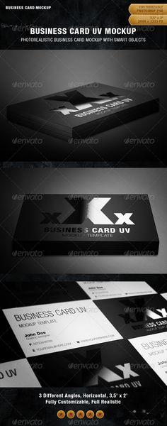 Business Card UV Mockup Download here: https://graphicriver.net/item/business-card-uv-mockup/849950?ref=KlitVogli