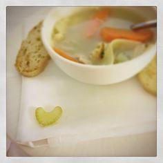 Celery heart!
