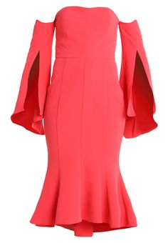 Forever New BROOKE FISHTAIL DRESS - Długa sukienka - watermelon - Zalando.pl Fishtail Dress, Forever New, Watermelon, Formal Dresses, Fashion, Formal Gowns, Fashion Styles, Formal Dress, Evening Gowns