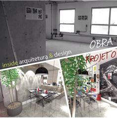 """A """"Haus"""" projetada pela INSIDE, em um studio - conceito Maxhauss, atende ao perfil de um jovem casal urbano, culto e super antenado em inovações tecnológicas. A INSIDE ousou e misturou estilos nos espaços que são totalmente integrados, utilizando como eixo de projeto as cores primárias que, contracenam com mobiliários monocromáticos, concreto aparente e objetos da década de 80. Visite nosso site e conheça mais do nosso portfólio: www.insidearquitetura.com.br"""