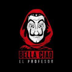 Shop Bella Ciao El Profesor Casa De Papel Men's T-Shirt by Manos PD. Best Wallpapers Android, Pretty Wallpapers, Disney Phone Wallpaper, Cellphone Wallpaper, Harry Potter Painting, Hacker Wallpaper, Space Artwork, Denim Art, Mobile Legend Wallpaper