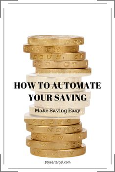 Read this blog post to find out how I automate my savings in order to save as much as possible. Automating savings make saving much easier.