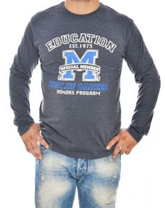 Μακρυμάνικες ανδρικές μπλούζες Graphic Sweatshirt, T Shirt, Long Sleeve Tops, Sweatshirts, Sleeves, Sweaters, Mens Tops, Fashion, Supreme T Shirt