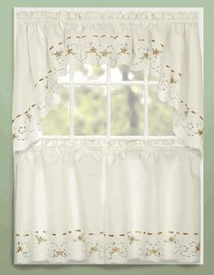 swag kitchen curtains pictures for walls 92 best cafe tier images sets rachael taupe united jabot