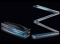 Artistic Creative Lamp Ideas Creating Special House Decoration: Gorgeous Nemo Chain Led Desk Lamp Idea Designed By Architect Modern House Fi. Desktop Lamp, Study Lamps, Home Lighting Design, Creative Lamps, All The Small Things, Light Emitting Diode, Energy Efficient Lighting, Task Lamps, Cool Lamps