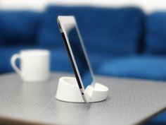 Tablet Stand holds your iPad in place no matter if you're in the Kitchen cooking or in the livingroom watching Youtube.  #bosign #nordicstyle #swedishdesign #tabletstand #recipeideas #recipeholder #ipad #recipe