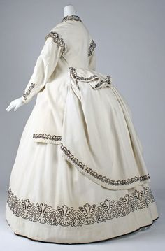 Dress, ca. 1865 | In the Swan's Shadow