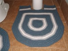 Crochet Bathroom set  Part 4 of 4