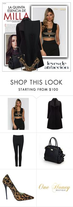 """""""One Honey Boutique (#9)"""" by shambala-379 ❤ liked on Polyvore featuring Studio 8 and plus size clothing"""