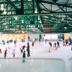 Chelsea Piers Sky Rink - New York City, NY #Yuggler #KidsActivities #IceSkating
