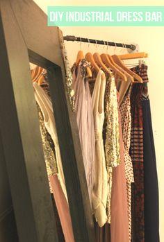 mint love social club: {corner closet}