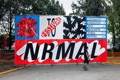 Festival Nrmal 2017 on Behance