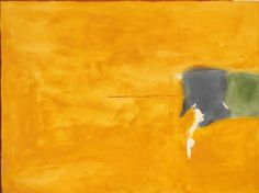 Helen Frankenthaler - Humming Gold