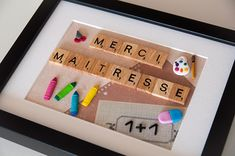 mistress scrabble gift Source by Diy Cadeau Maitresse, Diy Gifts, Best Gifts, Science Teacher Gifts, Teacher Appreciation Gifts, Diy And Crafts, Christmas Gifts, Thing 1, Activities