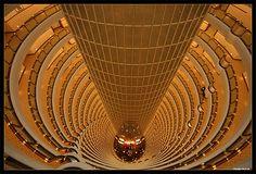 At the Grand Hyatt Shanghai