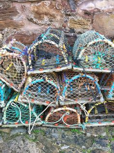 Crail Harbour - Lobster Pots | Flickr - Photo Sharing!