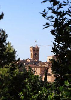 "Recanati, Marche, The Marches, Italy - Tower, ""Passero solitario"" poetry of the poet Giacomo Leopardi Photo by Celo Risi"