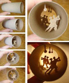Miniaturwelten von Anastassia Elias in alten Toilettenpapier-Rollen - Bild 4