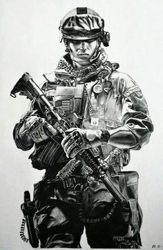 My pencil drawing of BATTLEFIELD 3 soldier. Army Tattoos, Military Tattoos, Warrior Tattoos, 3d Tattoos, Sleeve Tattoos, Pencil Drawings, Art Drawings, Soldier Tattoo, Soldier Drawing