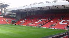 Places to see in ( Liverpool - UK ) Anfield Stadium #travelingram #instatraveling #travelingourplanet #travelingtheworld #lovetraveling #traveling #travel#worldtravel