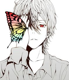 Zetsuen No Tempest / The Civilisation Blaster, the character Mahiro - Love the butterfly